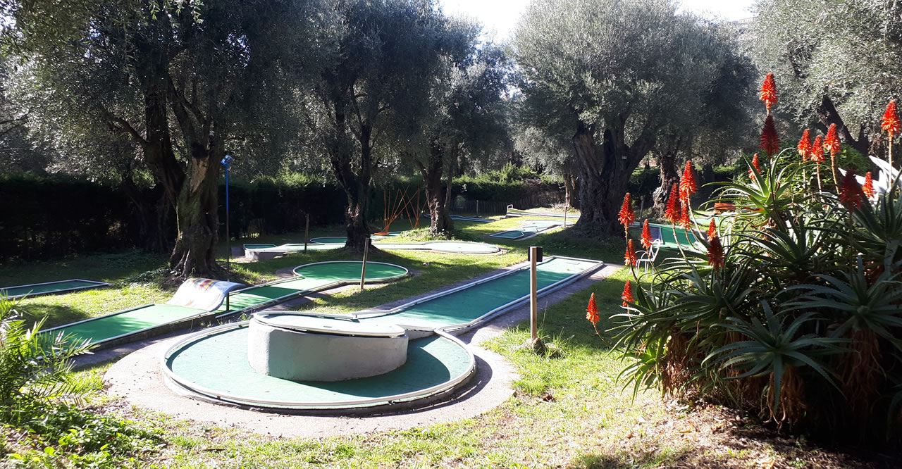 Mini golf du Pian 18 trous - Menton